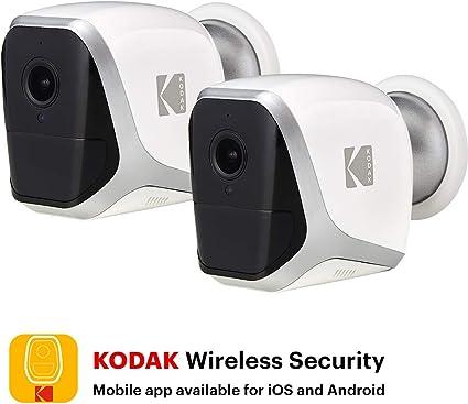 KODAK W101 Cámara de Vigilancia Full HD 1080p: Amazon.es: Electrónica