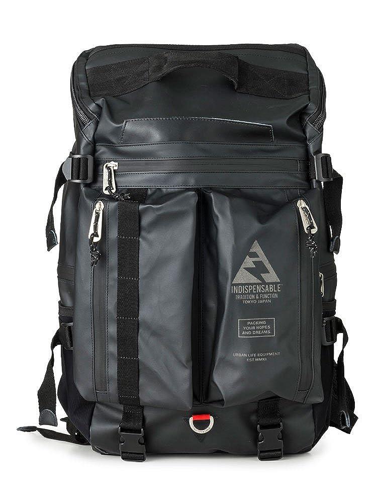 [インディスペンサブル] リュック BUSTLE Type2 メンズ 17912400 【80】ブラック -   B07Q79P3N1