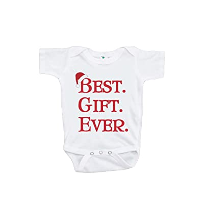 Custom Party Shop Baby's Best Gift Ever Christmas Onepiece