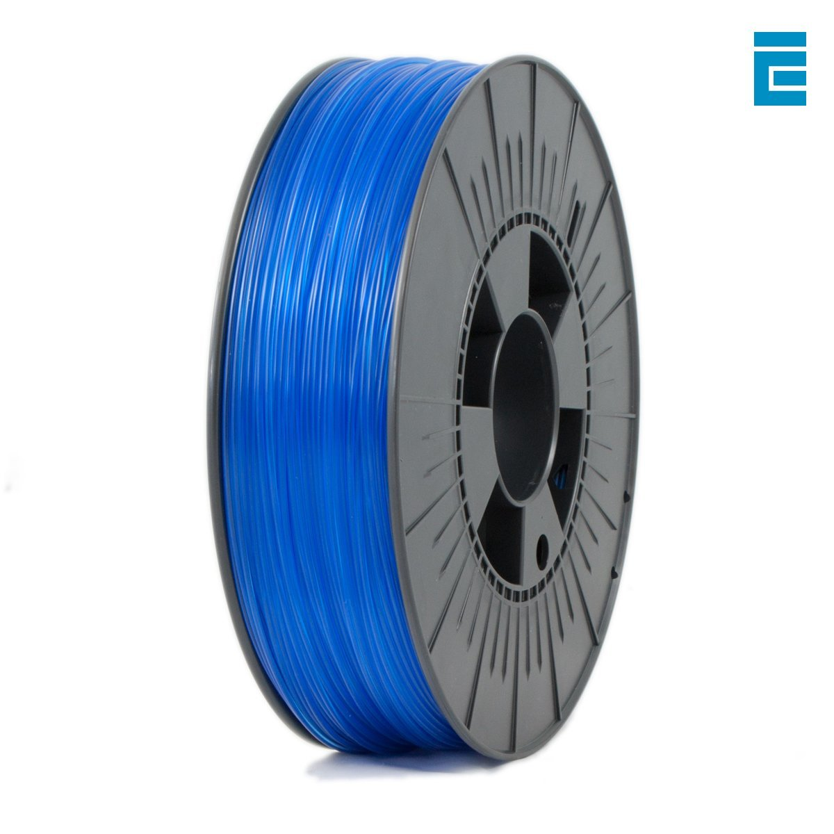 Ice Filaments ICEFIL1PET151 Filamento PET 1.75mm, 0.75kg, Blu Claro Dutch Filaments