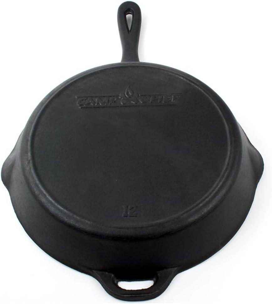 Camp Chef Cast Iron Skillet Po/êle en fonte 30/cm