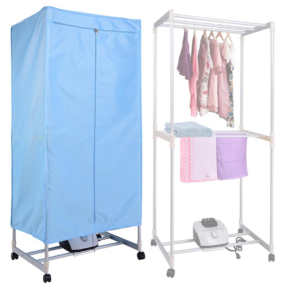 Nice Yescom Portable Electric Clothing Dryer Rack 1000W Heater Wardrobe Drying  Rack Home