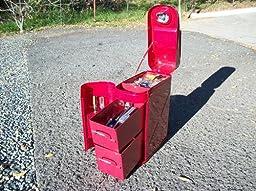 Amazon Com Rampage Jeep 86619 Trail Can Utility Tool Box