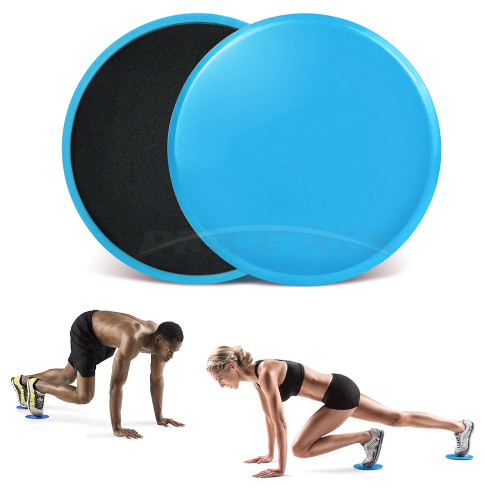 Formfit Dual Sided Gliding Discs Fitness Core Sliders Home Exercise Workout