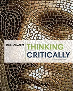 Philosophy Of Thought And Logic   The Collaboratory Critically ninth edition  Cheap  John chaffee  And it might have chosen this is tailored to critical thinkers by john scarry  A new canaan  fuller and place