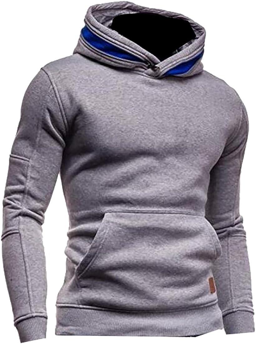 Ptyhk RG Men Winter Classic Lapel Fur Collar Button Up Faux-Leather Jacket