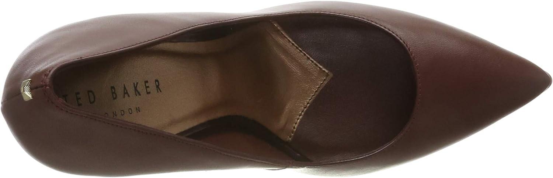 Ted Baker London Women's Melni Closed Toe Heels Brown Chestnut Chestnut
