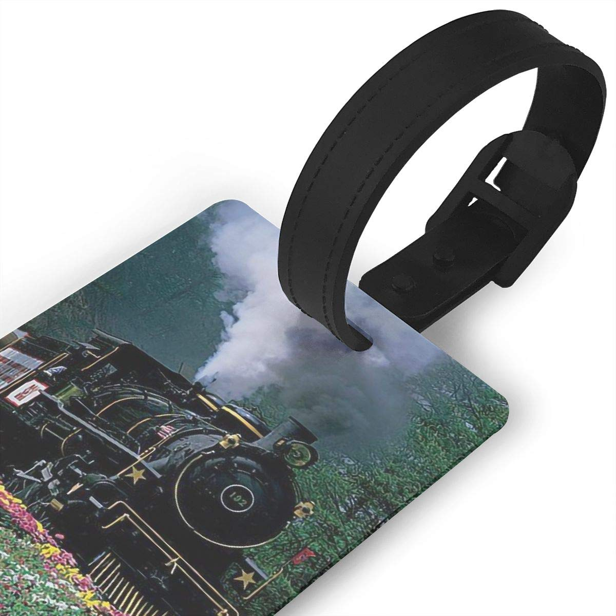 2 Pack Luggage Tags Train Handbag Tag For Travel Bag Suitcase Accessories