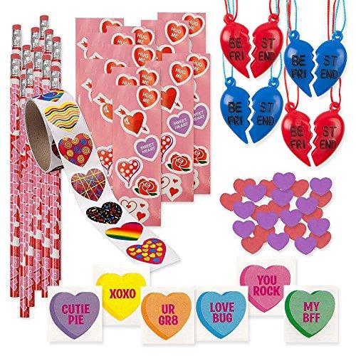 157 Piece Mega Valentine Toy Assortment; 12 of 2 Piece