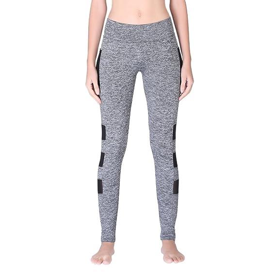 1e293724fe34 Handfly Mallas Deportivas Mujer Leggins Yoga Pantalon Elastico ...