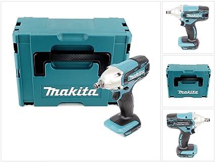 Makita DTW 190 ZJ 18 V atornillador de impacto (batería de ion de ...