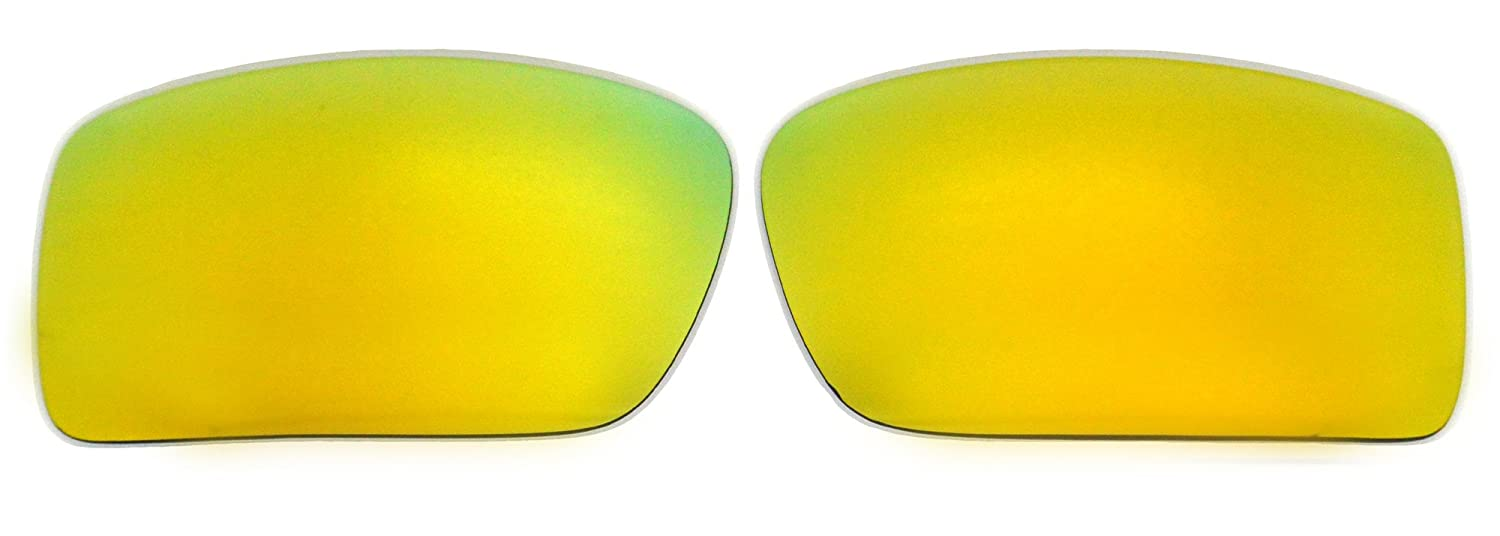2f24a402c4 Amazon.com  Polarized Replacement Lenses for Oakley Gascan Sunglasses  (Gold) NicelyFit  Clothing