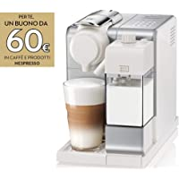 De'Longhi Nespresso Lattissima Touch Animation Macchina da Caffè Espresso, Porzionato, Chiuso, 1400 W, 1 Cups