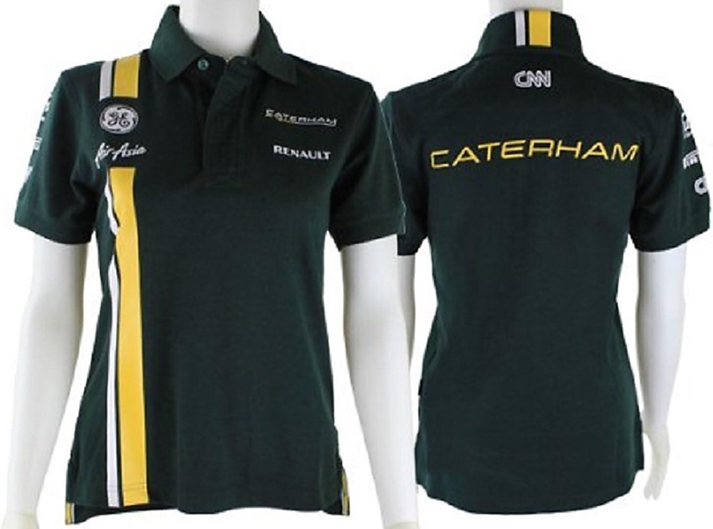 Fórmula uno Caterham F1 Team damas verde RL02 polo de Verde verde ...
