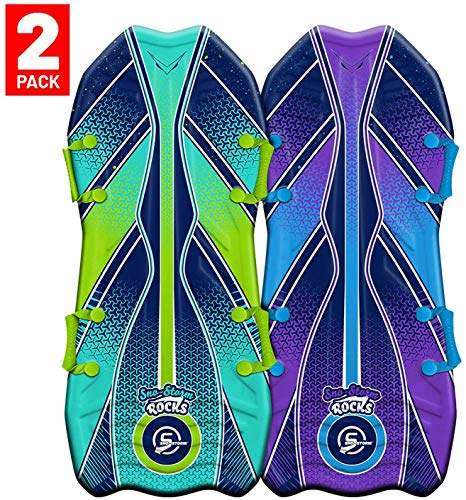 """Sno-Storm 45"""" Stylus Winter Snow Sled 2-Pack"""