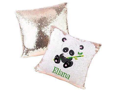 Amazon.com: Ma5464mon - Almohada de lentejuelas con diseño ...
