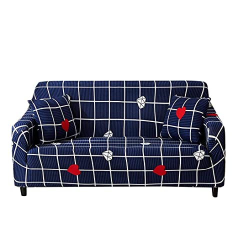 Amazon.com: XZ Fundas de sofá elásticas, fundas de tela de ...