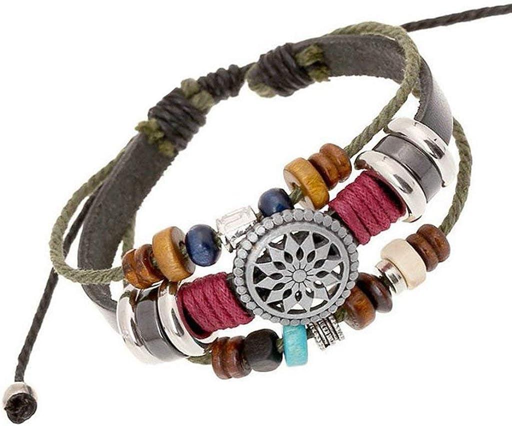 Purple Green Brown Coconut Wood Wristband Bracelet Bangle Womens Girls Jewellery