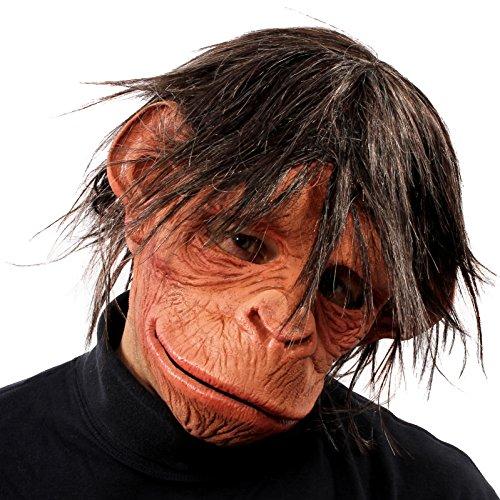 ZAGONE Hey Hey Here is a Monkey Full Mask w/ Hair
