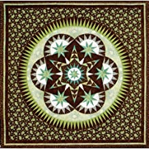 Morning Glory - Foundation Paper Piecing Pattern ? 45? x 45? Quilt ?