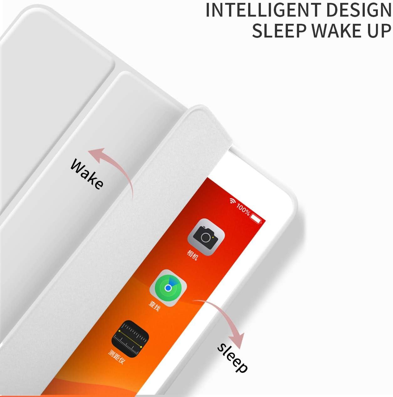 Generation 10,2 H/ülle 2019 mit Stifthalter D/ünn Leicht Smart Schutzh/ülle Standabdeckung Auto Aufwachen//Schlafen f/ür Apple iPad 10,2 Zoll Modell A2197 Hellblau A2200 A2198 aoub Neues iPad 7