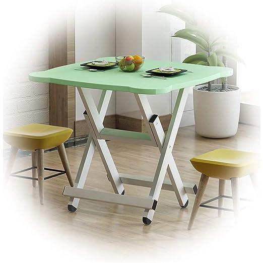 Forma de Oreja de Gato Mesa Plegable Mesa de Comedor para el hogar ...