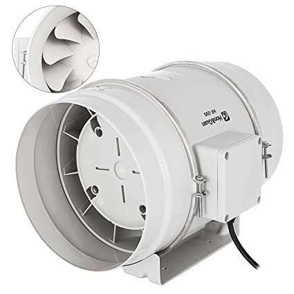 Mophorn Inline Duct Fan 8 Inch 495 Cfm Mixed Flow Ventilation Fan Inline Exhaust Fan For Ventilation In Bathroom Kitchen Home And Grow Room