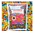 MarvelBeads Water Beads Rainbow Mix, 8 oz (20,000 beads) for Orbeez Spa Refill, Sensory Toys and Décor from Cosmo Enterprise