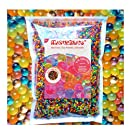 MarvelBeads Water Beads Rainbow Mix, 8 oz (20,000 beads) for Orbeez Spa Refill, Sensory Toys and Décor