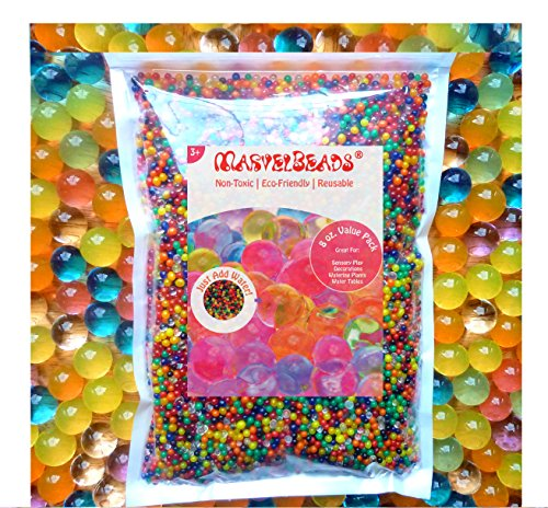 MarvelBeads-Water-Beads-Rainbow-Mix-8-oz-20000-beads-for-Orbeez-Spa-Refill-Sensory-Toys-and-Dcor