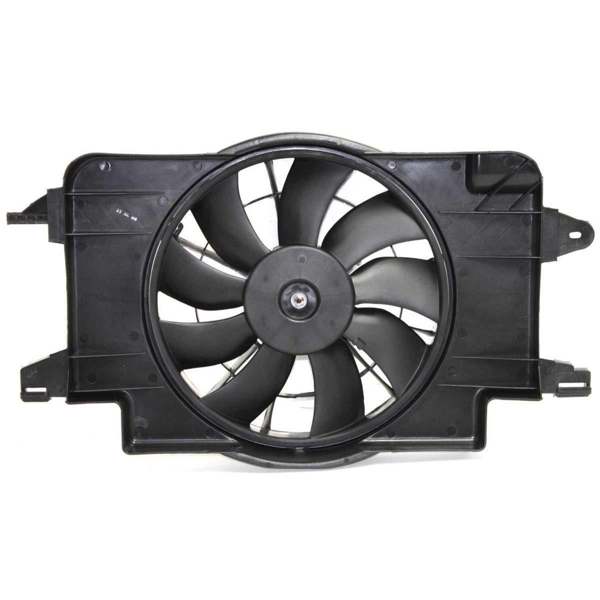 Sunbelt Radiator And Condenser Fan For Saturn SL SL1 GM3115121 Drop in Fitment