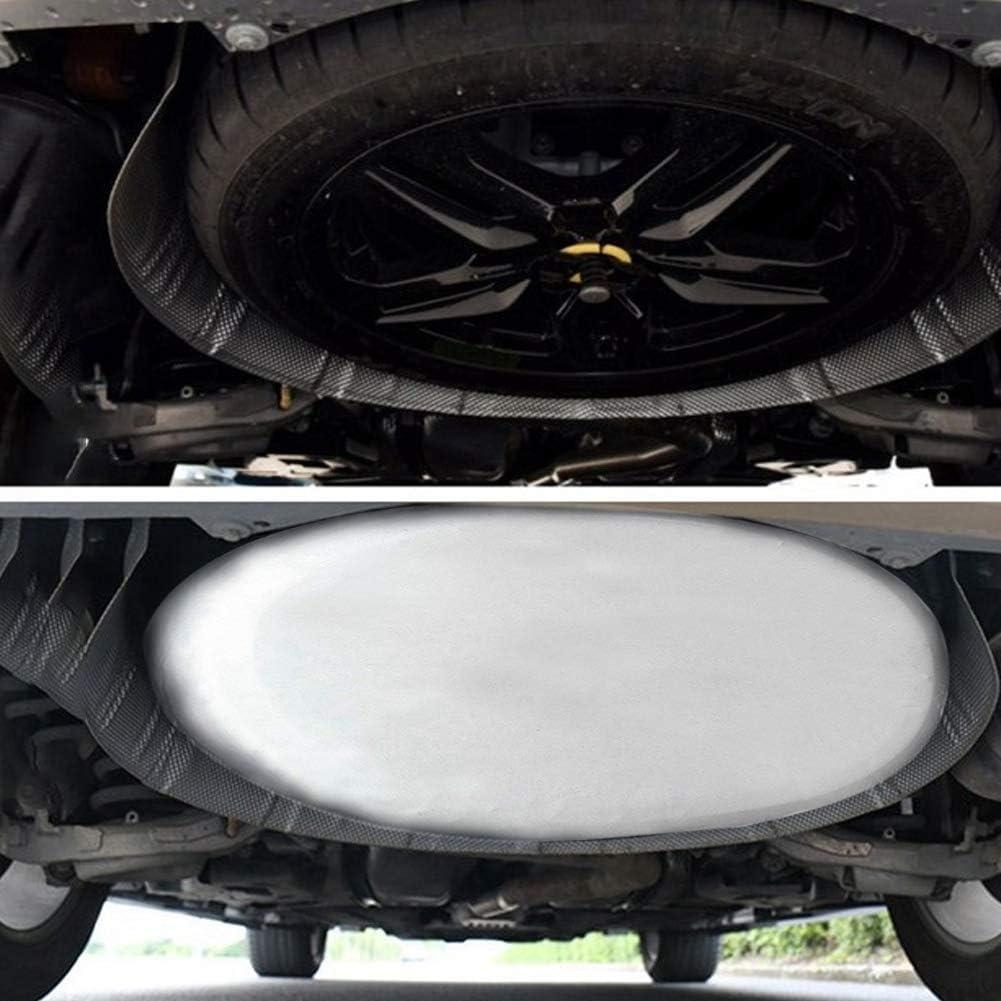 KIMISS 28inch Universal Spare Tire Tire Cover Accessorio impermeabile per rimorchio RV SUV Truck Bianco