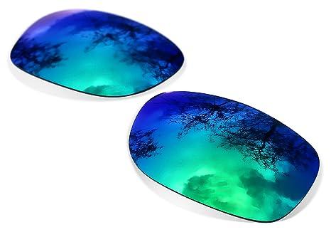 Sunglasses Restorer Lentes Polarizadas de Recambio Sapphire Green para Oakley Ten