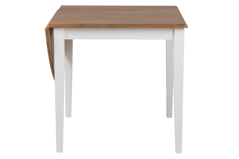 PKline Esstisch Brie 75/115x75 cm Klapptisch Küchentisch Wohnzimmer Tisch Massiv Holz