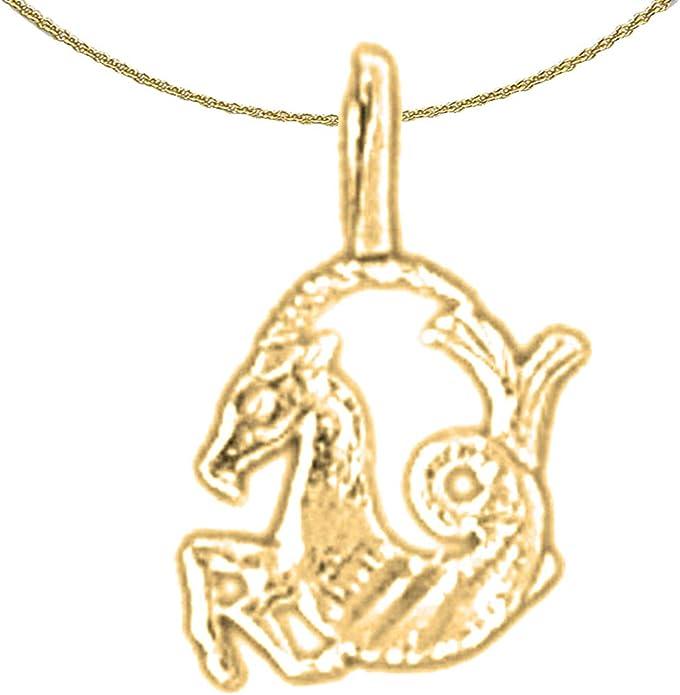 14K Yellow Gold-plated 925 Silver Zodiac Jewels Obsession Silver Zodiac Libra Pendant Libra Pendant