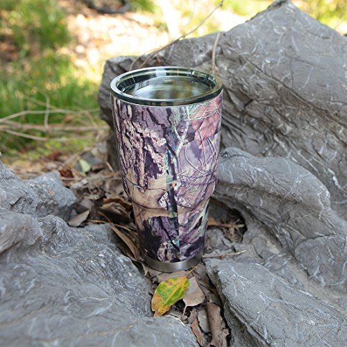 ffb9e6faa11 MOSSY OAK Stainless Steel Camo Tumbler - 30 Oz Double Wall Vacuum Insulated  Coffee Cup -