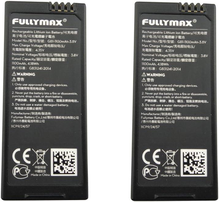2 baterias para drone DJI Tello 3.8V 1100mah