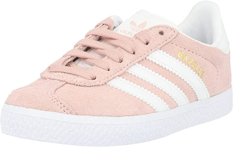 Simpático Polo misil  adidas Originals Gazelle C Icey Pink Suede 1 UK: Amazon.co.uk: Shoes & Bags