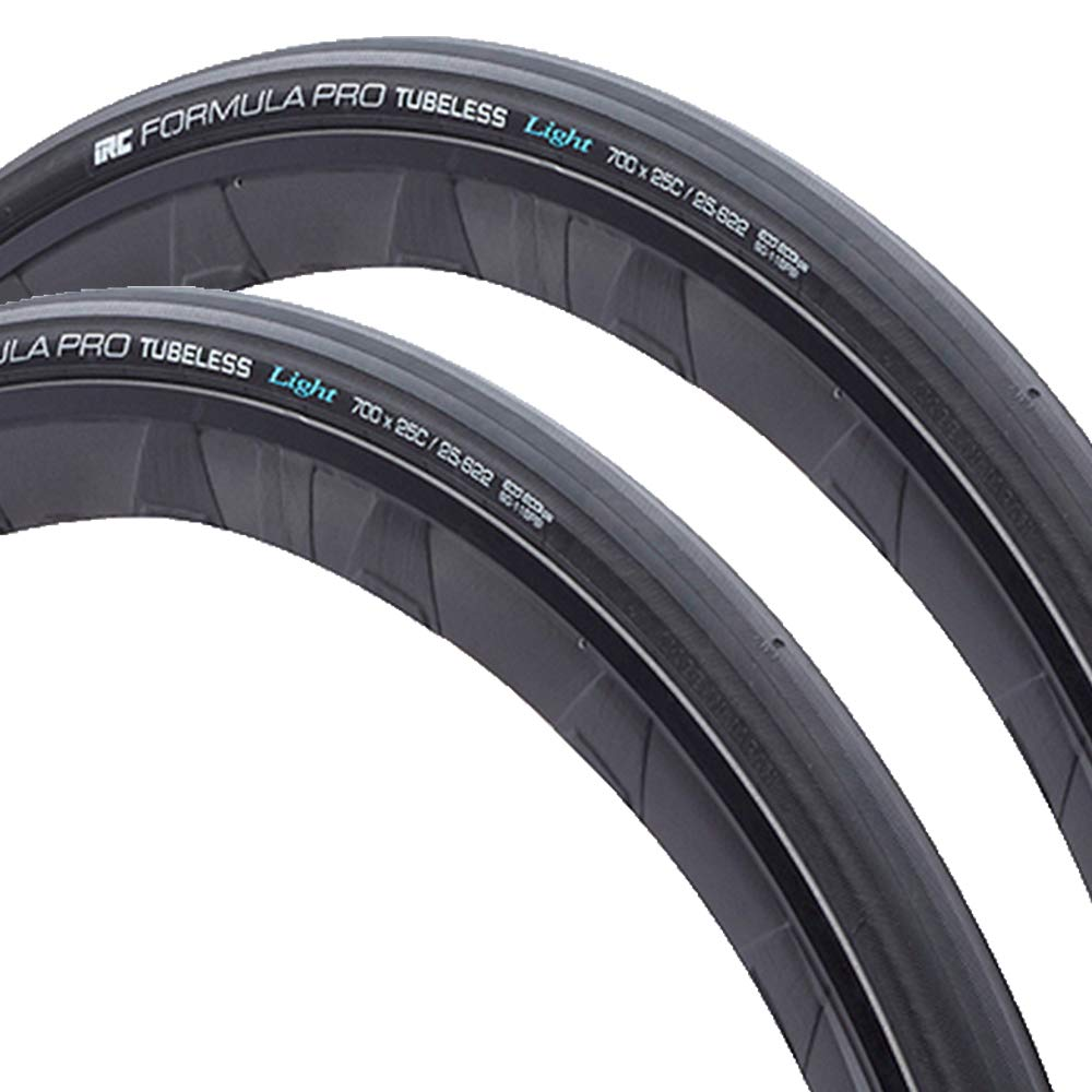 IRC tire IRC FORMULA PRO TUBELESS RBCC 190130 HP-92 700X25c ブラック 2本セット
