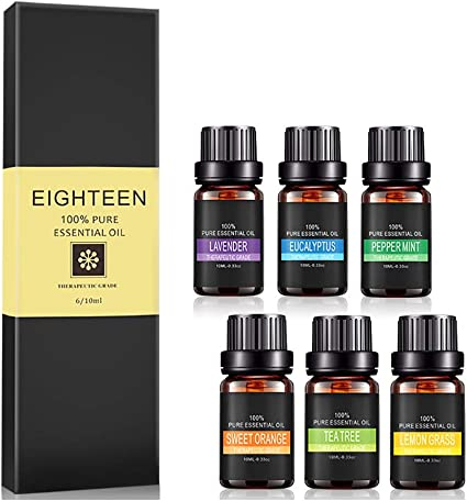 Aceites Esenciales para aromaterapia para difusor pura therapeu ...