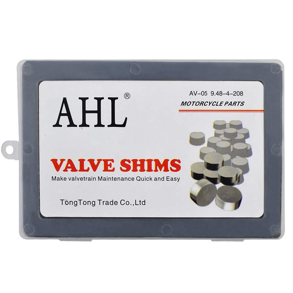 AHL Durchmesser 9.48mm 4 x 52pcs Ventil Shim Ventile einstellen f/ür Kawasaki VN800B Vulcan 800 Classic 1996-2005
