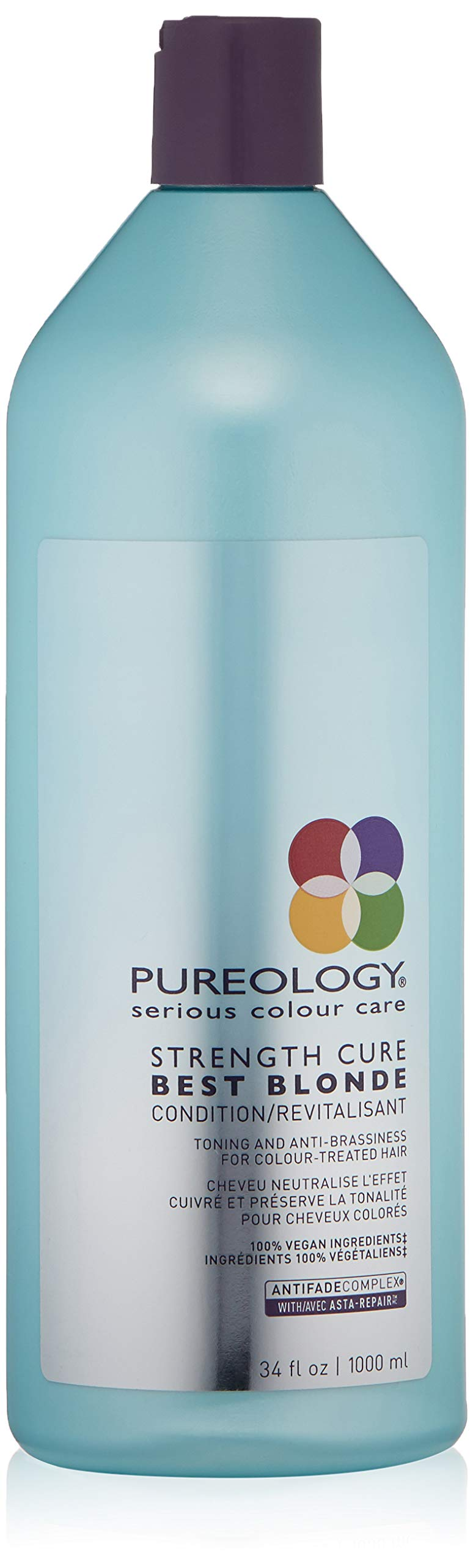 Pureology Strength Cure Best Blonde Purple Conditioner, 33.8 fl. oz.