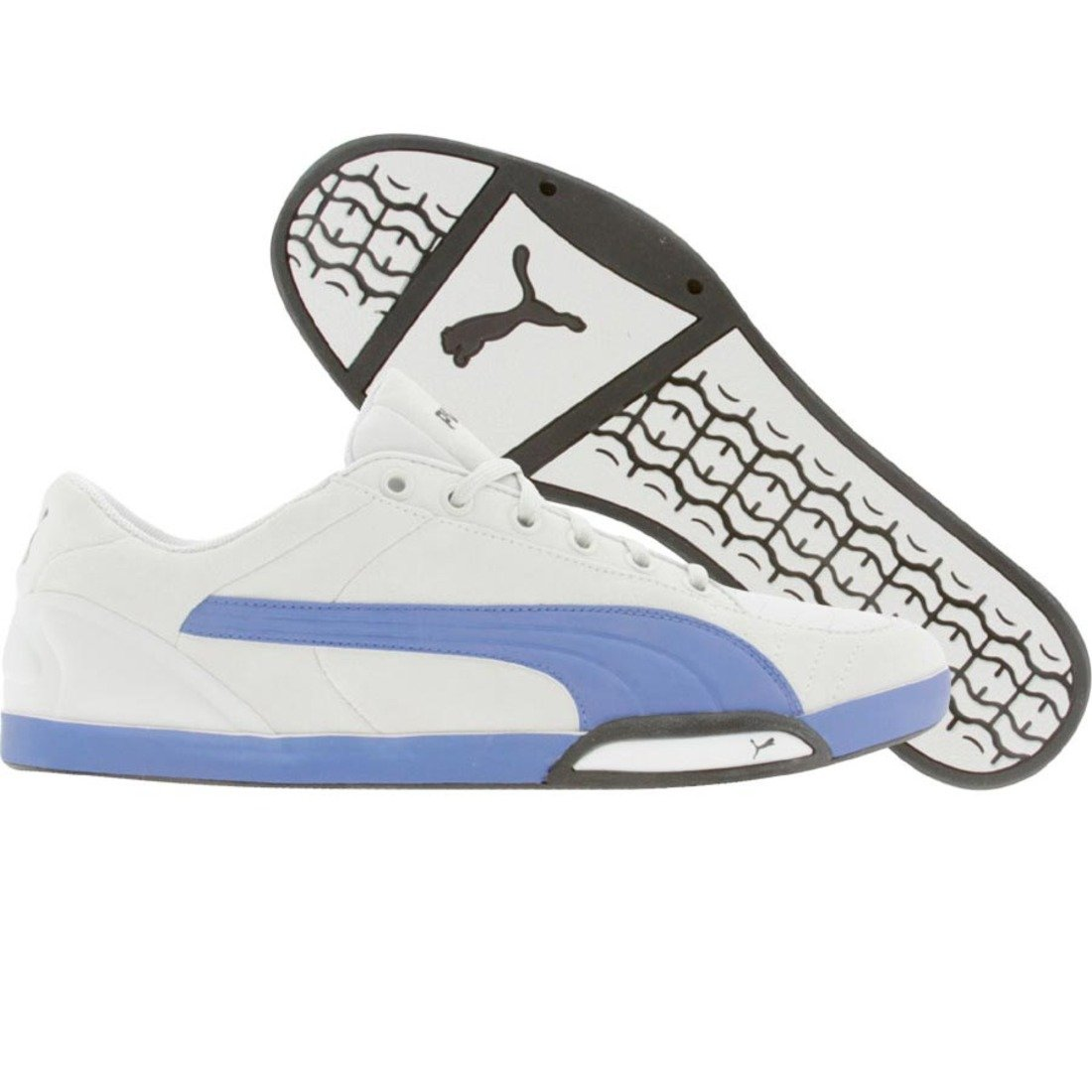 PUMA 65Cc LO Sneaker,White Royal,US Women's 13.5 B/US Men's 12 D