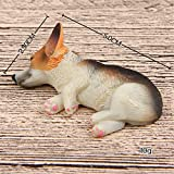 3D Funny Corgi Magnet Fridge Stickers, 4PCS Cute