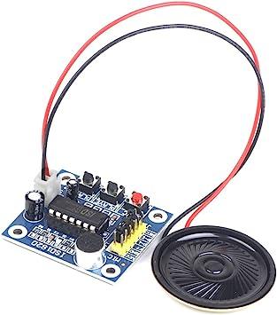 Voice ISD1820 Recording Recorder Module With Mic Sound Audio+Loudspeaker UK