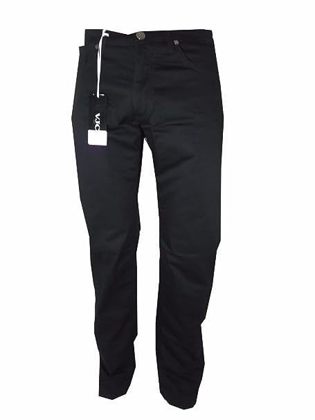 a basso prezzo 190c5 44716 pantaloni versace uomo in cotone stretch estivo fuego bis ...