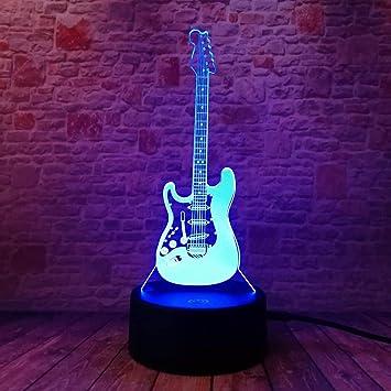 LWJZQT Luz de noche Dibujos Animados Creativos 3D Música Eléctrica ...