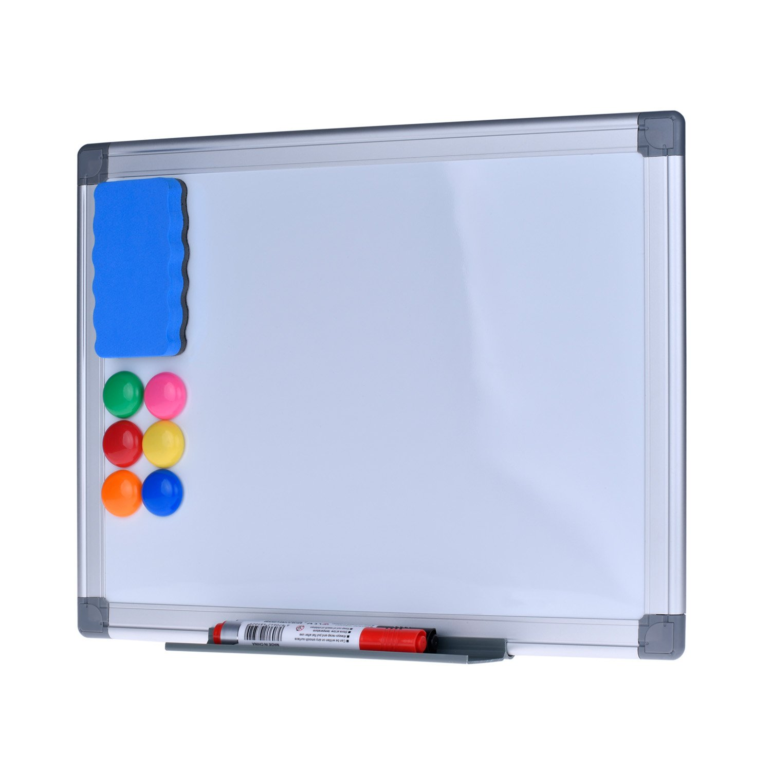 Magnetic Dry Erase Board - EFIRNITURE 12x15 inch Aluminum Frame Wall Mounted Whiteboard, 6 Magnets, 2 Marker Pens, 1 Eraser, and Removable Marker Tray Included by EFIRNITURE (Image #5)