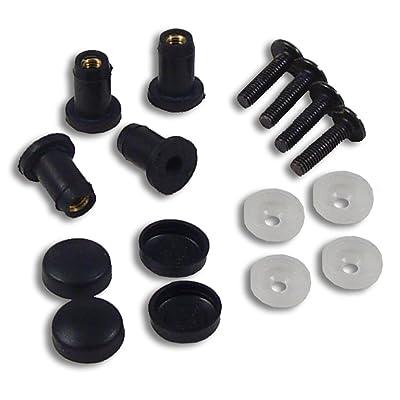 PowerMadd 14593 Windshield Well Nut Mounting Kit: Automotive
