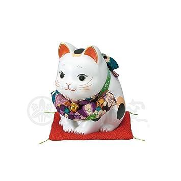 Amazon | 招き猫 彩絵ふく福おじ...